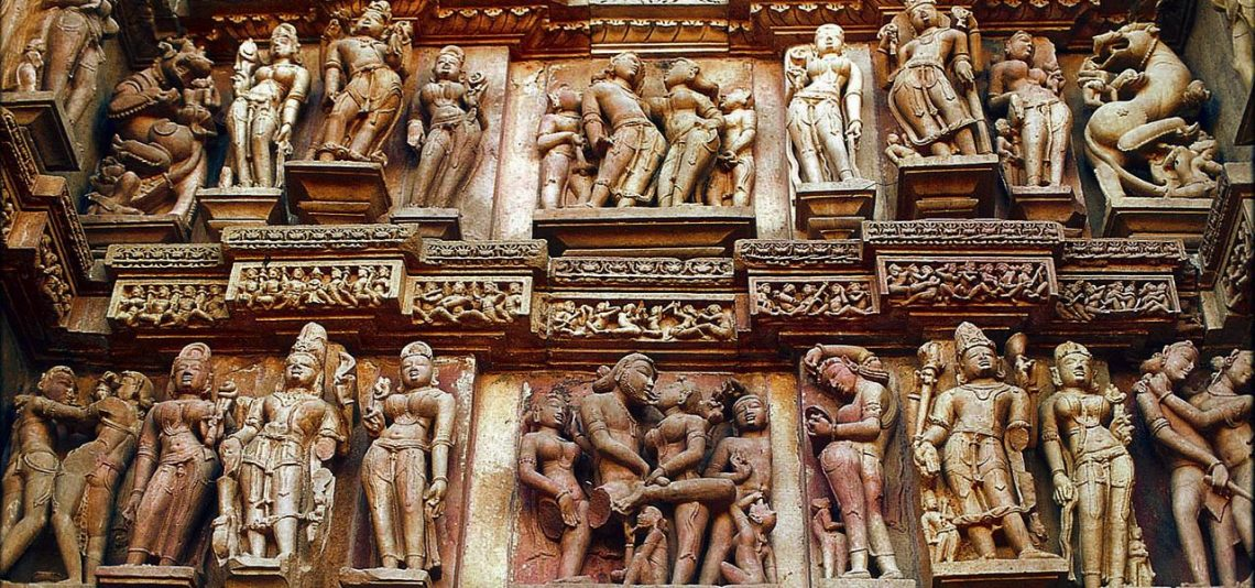 World heritage sites of Khajuraho.