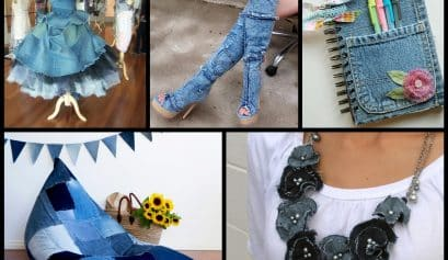 Clothing Item Made of Denim